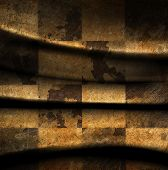 image of chessboard  - Grungy dotted chessboard background with a stains - JPG