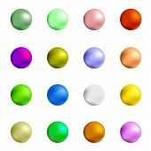 foto of gumballs  - Colorful Sweet Gumball Isolated on White Background - JPG
