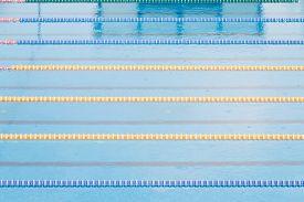 image of swim meet  - Part of corridors of public swimming pool - JPG