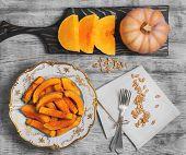 ������, ������: Baked Pumpkin Food Photo