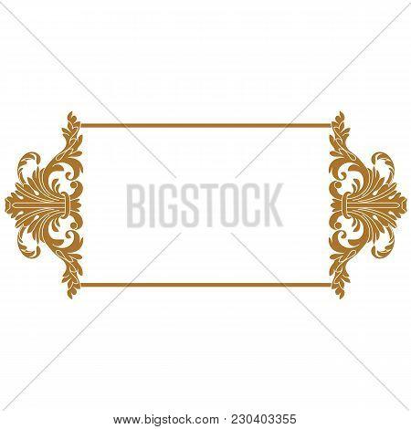poster of Golden vintage ornament pattern frame, border ornament pattern frame, engraving ornament pattern frame, ornament ornament pattern frame, pattern ornament frame, antique ornament pattern frame, baroque ornament pattern frame, decorative ornament pattern