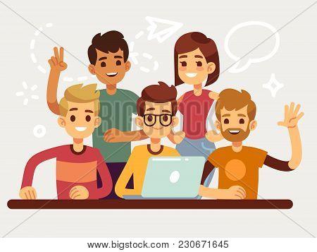 Business Creative Team Happy Coworking