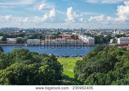 View Of Saintpetersburg Russia