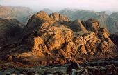 Sunrise at Mount Sinai in Egypt