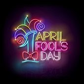 Greeting Card Template For April Fools Day poster