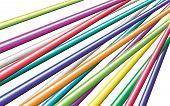 Постер, плакат: Красивый цвет кабель