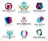 Постер, плакат: Psychology Human Brain Psychoanalysis And Psychotherapy Relationship And Gender Problems Persona