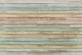 pastel colored wood planks background or texture poster