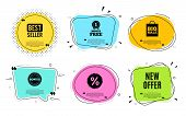 New Offer. Best Seller, Quote Text. Special Price Sign. Advertising Discounts Symbol. Quotation Bubb poster