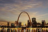 City of St. Louis Skyline, Missouri