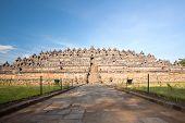 foto of arjuna  - Architecture Borobudur Temple Stupa Ruin in Yogyakarta Indonesia - JPG
