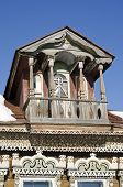 pic of woodcarving  - woodcarving balconies eaves and trim - JPG