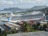Ruby Princess, St lucia