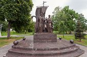 Samara, Russia - June 11: Monument To The Russian Orthodox Saints Peter And Fevronia Of Murom, Patro