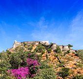 stock photo of jainism  - Kumbhalgarh fort Rajasthan India - JPG