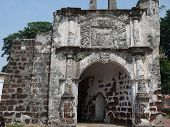image of malacca  - The famous iconic A Famosa Fort located in Malacca - JPG