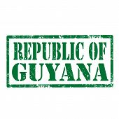 Republic Of Guyana-stamp