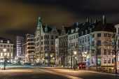 stock photo of copenhagen  - Evening - JPG