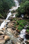 picture of ravana  - Rocks and Ravana waterfall near Ella Sri Lanka - JPG