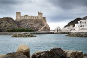 stock photo of oman  - Picture of fort Jalali in Muscat Oman - JPG