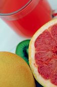 picture of pomelo  - fresh fruits - JPG