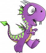 image of insane  - Insane Purple Dragon Illustration Art - JPG