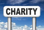 foto of word charity  - give charity donation help the needy giving a gift and donate for a good cause fund raising - JPG