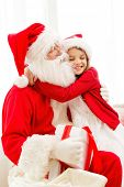 pic of christmas claus  - holidays - JPG
