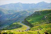 foto of armenia  - Selim mountain pass in Armenia part of the ancient Silk Road - JPG