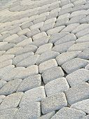 pic of paving stone  - Tiled pavement background - JPG