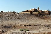 stock photo of jericho  - Nabi Musa the Tomb of Moses near Jericho and the Dead Sea Israel - JPG