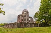 picture of nuclear bomb  - Hiroshima Peace Memorial  - JPG