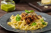 picture of celery  - Fettuccine with Bolognese sauce  - JPG