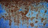 pic of oxidation  - Oxidized metal surface making an abstract texture - JPG
