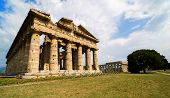 picture of ceres  - Temple of Neptune the famous Paestum archaeological site  - JPG