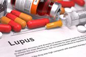 stock photo of lupus  - Diagnosis  - JPG