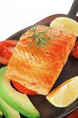 image of gold panning  - healthy sea food - JPG