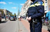 picture of policeman  - city security and safety - JPG