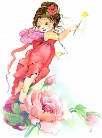 picture of fairy  - Cute girl - JPG