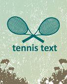 foto of deuce  - tennis poster - JPG