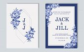 Wedding Invitation, Thank You Card, Save The Date Cards. Wedding Invitation. poster