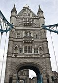 picture of u-boat  - Tower Bridge in London - JPG