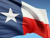 image of texas flag  - The Texas flag - JPG
