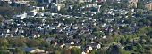 Panoramic View Of A European City In Germany, Aerial View. European Housing, A Cute European City poster