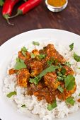 pic of indian food  - Chicken Curry - JPG