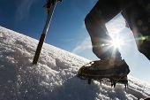 pic of mountain-climber  - Mountain climber - JPG