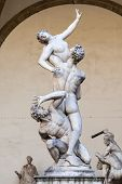 pic of centaur  - An image of the Rape of the Sabine Women in Florence Italy - JPG