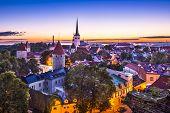 image of olaf  - Dawn in Tallinn - JPG