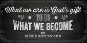 stock photo of godly  - Quote Typographical Background - JPG