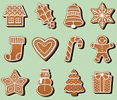 pic of christmas cookie  - A baker - JPG